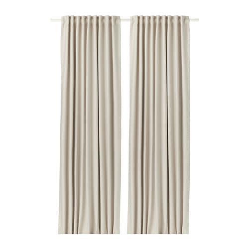vilborg curtains 1 pair ikea