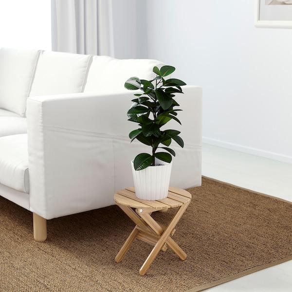 "VILDAPEL Plant stand, bamboo, 11 ½ """