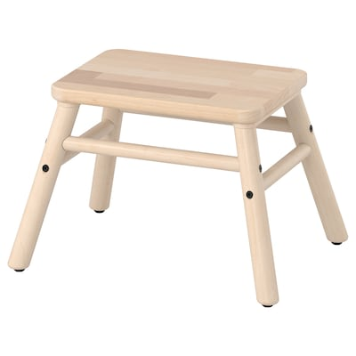 "VILTO step stool birch 15 3/4 "" 12 5/8 "" 9 7/8 "" 220 lb"