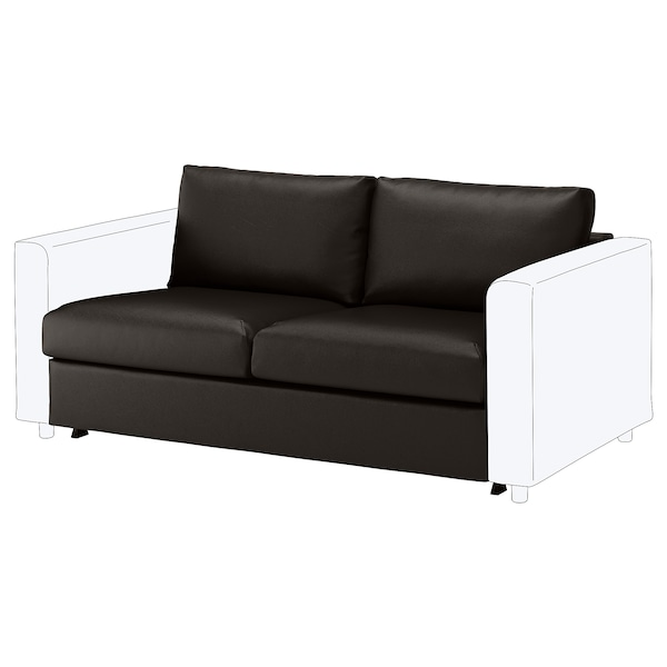 Tremendous Loveseat Sleeper Section Vimle Farsta Black Squirreltailoven Fun Painted Chair Ideas Images Squirreltailovenorg
