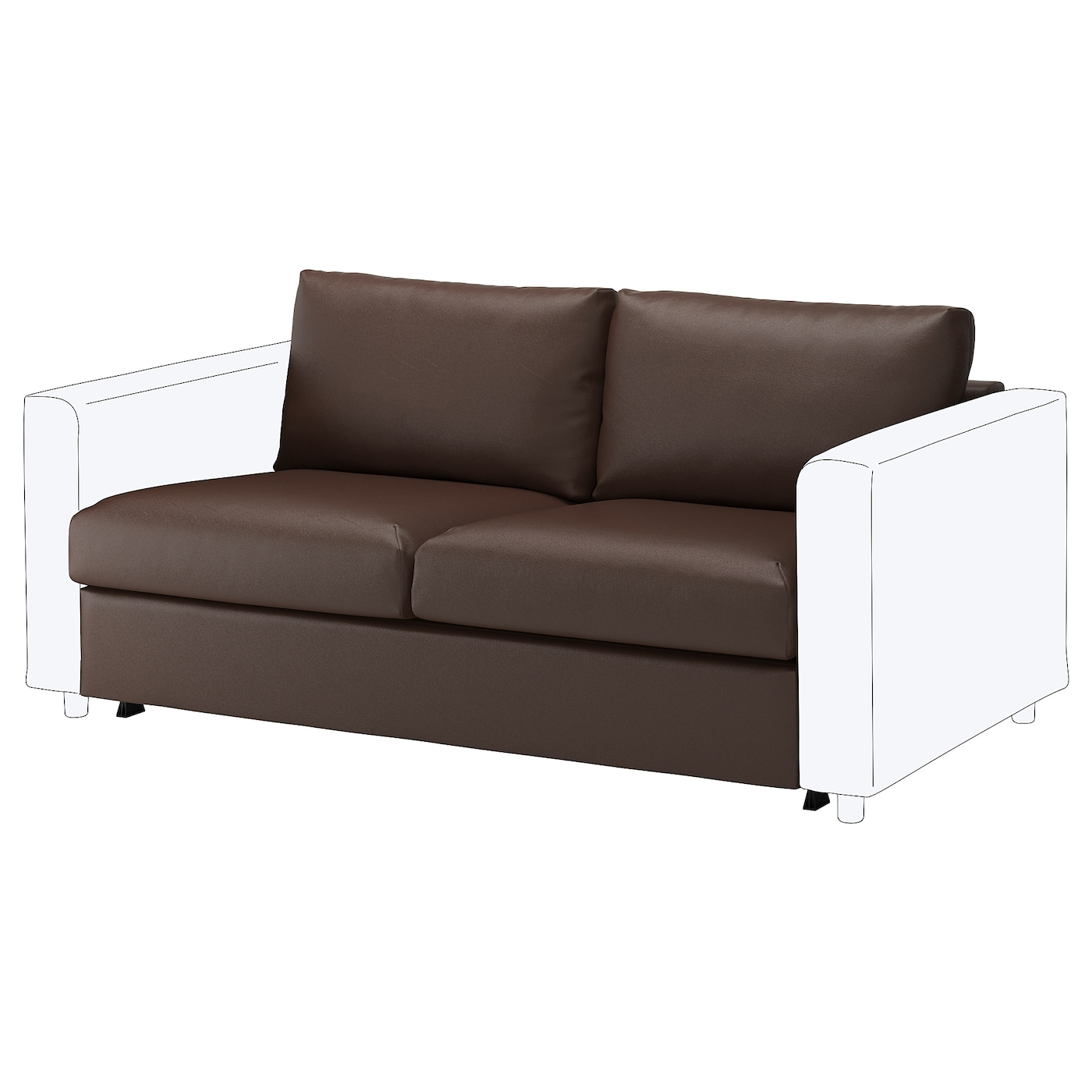 Vimle Loveseat Sleeper Section Farsta