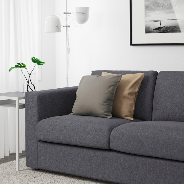 Design On Stock 2 5 Zits Bank.Vimle Sofa With Open End Gunnared Medium Gray Ikea