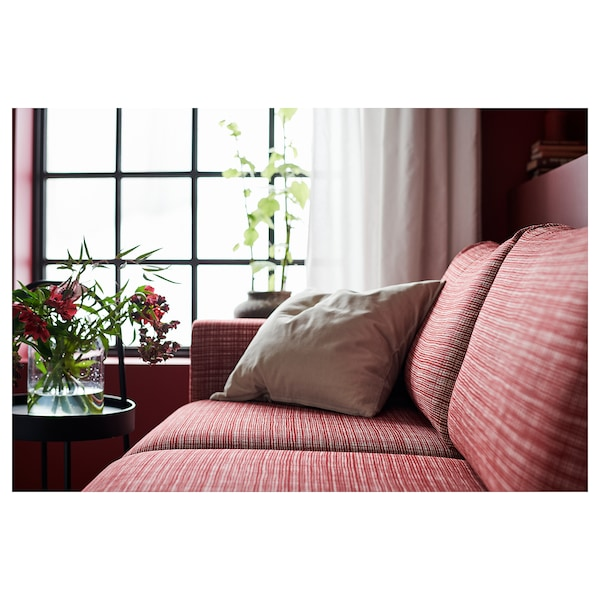 """VIMLE sectional, 4-seat with chaise/Dalstorp multicolor 31 1/2 """" 64 5/8 """" 126 3/4 """" 38 5/8 """" 49 1/4 """" 1 5/8 """" 5 7/8 """" 25 5/8 """" 115 """" 21 5/8 """" 17 3/4 """""""