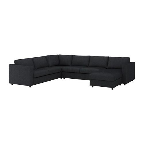 Vimle Corner Sleeper Sofa 5 Seat With Chaise Tallmyra