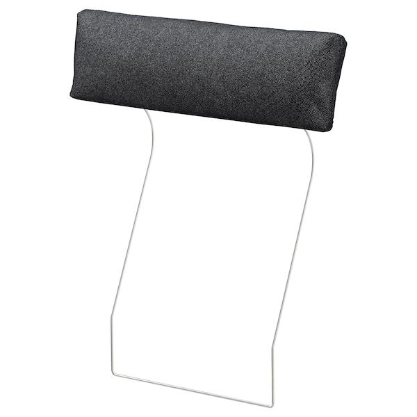"VIMLE headrest Tallmyra black/gray 28 "" 7 7/8 "" 5 """