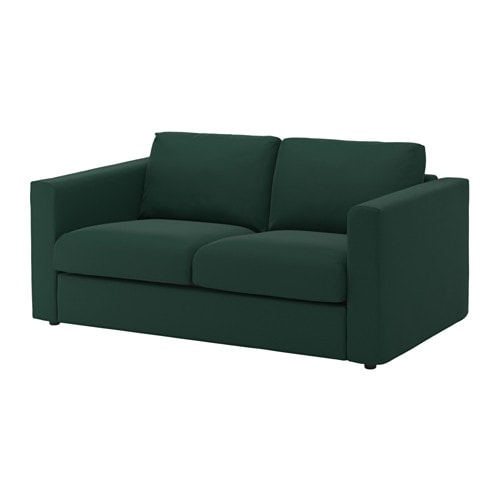 vimle loveseat gunnared dark green ikea. Black Bedroom Furniture Sets. Home Design Ideas
