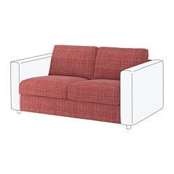 VIMLE loveseat section, Dalstorp multicolor