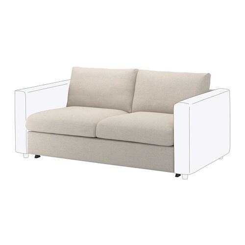 Vimle Loveseat Sleeper Section Gunnared Beige Ikea