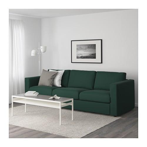 Vimle Sofa Gunnared Dark Green Ikea