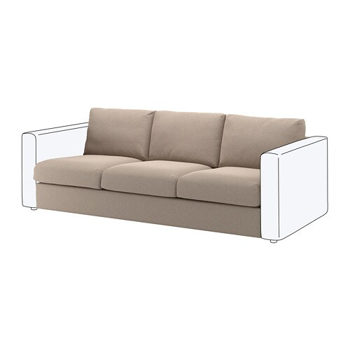 Surprising Vimle Sofa Section Tallmyra Beige Download Free Architecture Designs Scobabritishbridgeorg