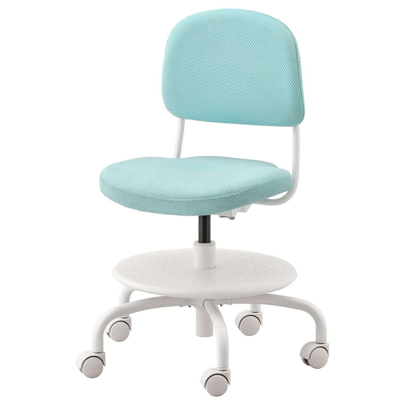 Image of: Vimund Child S Desk Chair Light Turquoise Ikea