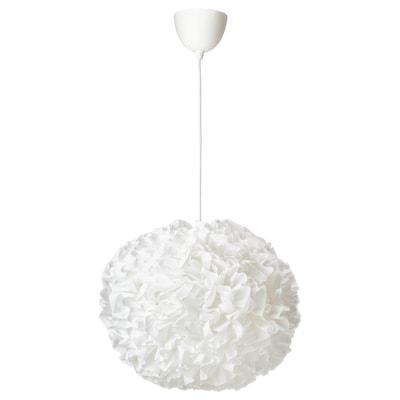 "VINDKAST Pendant lamp, white, 20 """