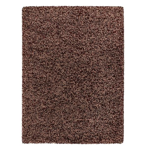 """VINDUM Rug, high pile, brown, 6 ' 7 """"x8 ' 10 """""""