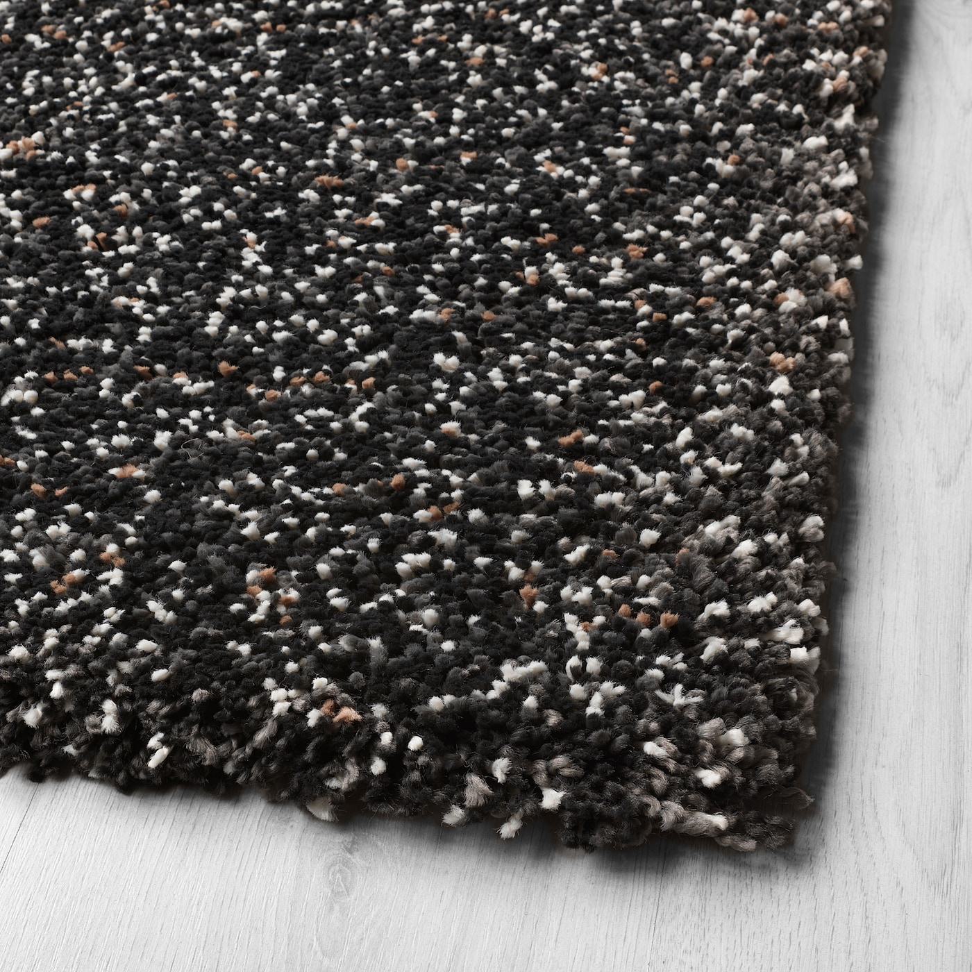 Vindum Rug High Pile Dark Gray 6 7