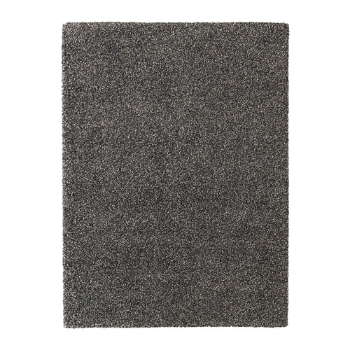 VINDUM Rug, high pile, dark gray dark gray 6 ' 7