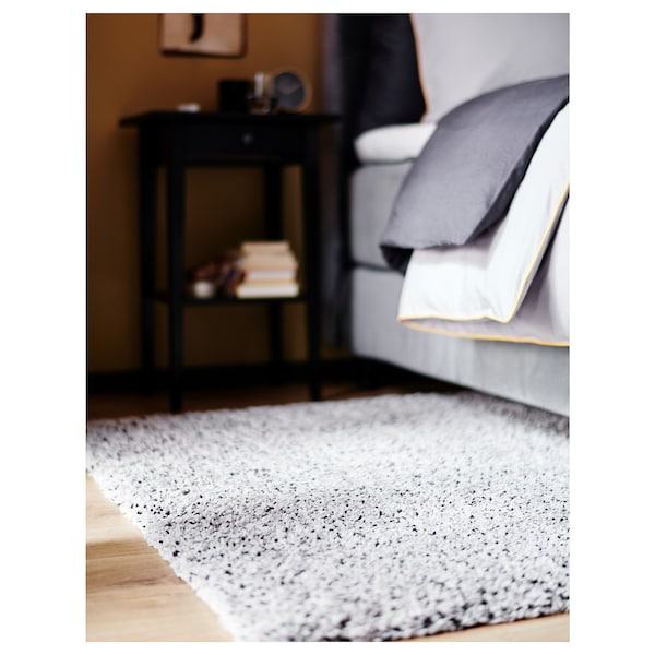 "VINDUM Rug, high pile, white, 6 ' 7 ""x8 ' 10 """