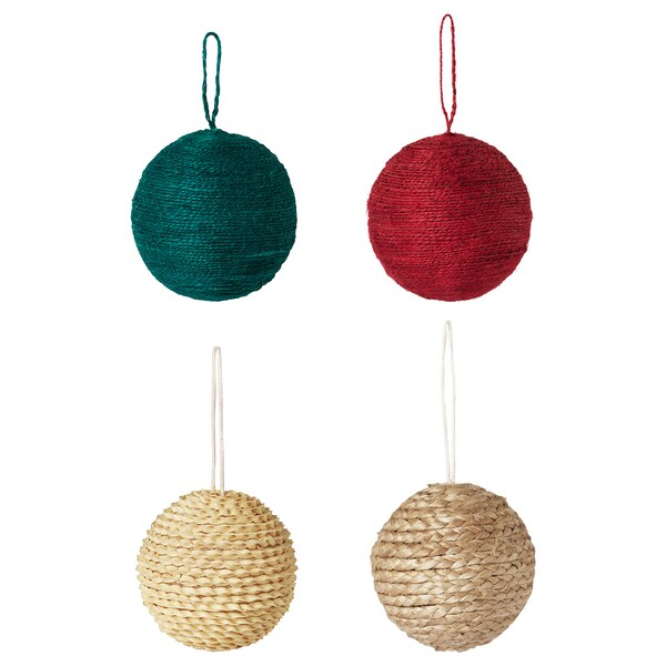 """VINTER 2020 Ornament, mixed colors, 3 ¼ """""""