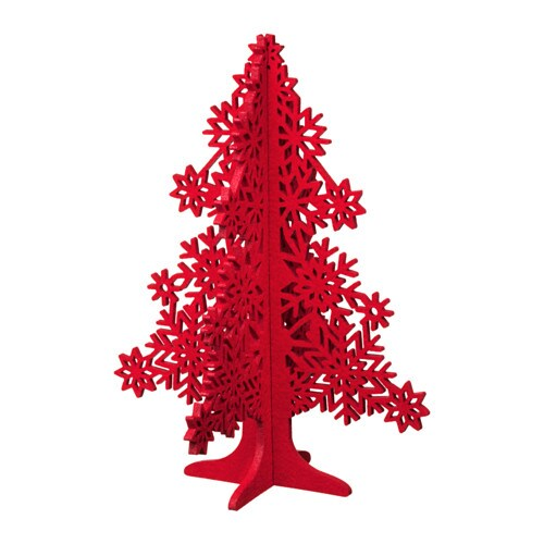 VINTER 2017 Decoration, tree, red