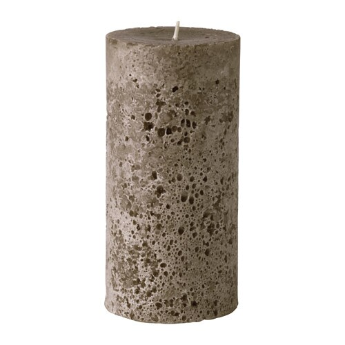 vinter 2016 unscented block candle ikea