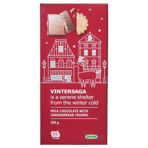 IKEA VINTERSAGA Milk chocolate bar