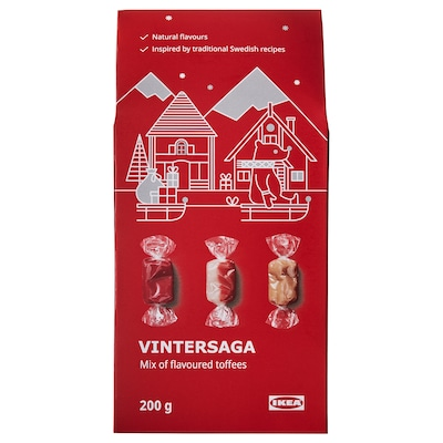 VINTERSAGA Mix of flavored toffees, 7 oz