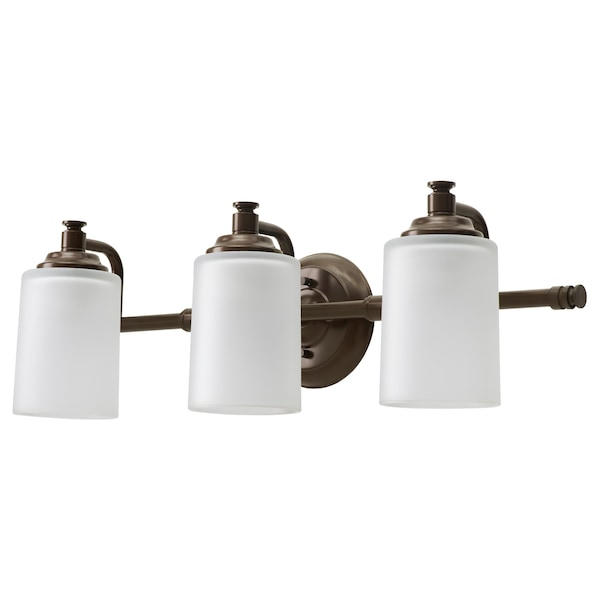 "VIPPARP wall lamp, 3-spots bronze color 25 "" 6 "" 7 """