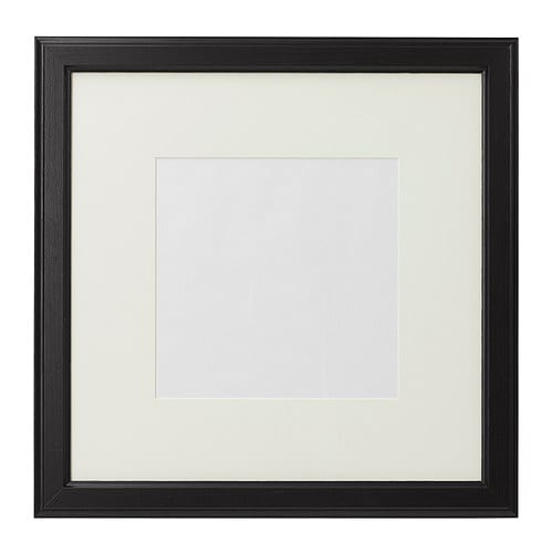 VIRSERUM Frame IKEA The mat enhances the picture and makes framing easy.  The mat is acid-free and will not discolor the picture.
