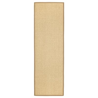 "VISTOFT rug, flatwoven natural 8 ' 2 "" 2 ' 7 "" ¼ "" 21.53 sq feet 9.31 oz/sq ft"