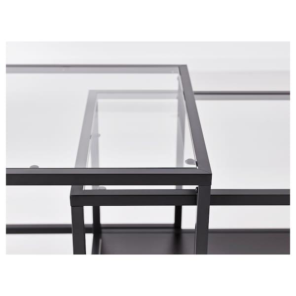 IKEA VITTSJÖ Nesting tables, set of 2