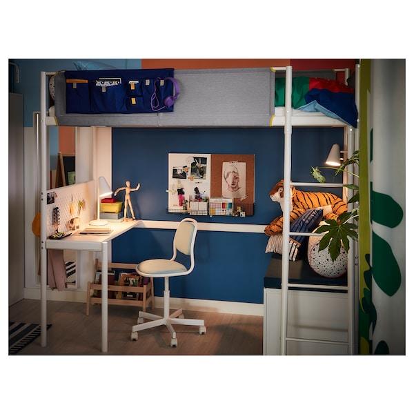 VITVAL Desk top, white, Twin