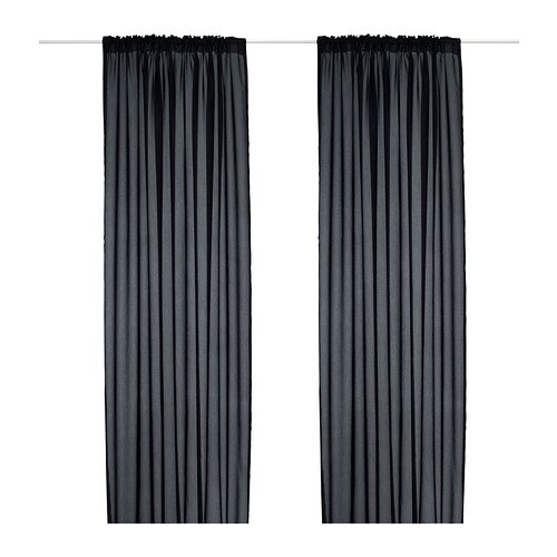 Gallery of Curtains Ikea