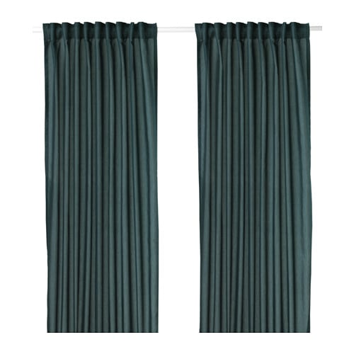 Vivan curtains 1 pair ikea for Ready made blinds ikea