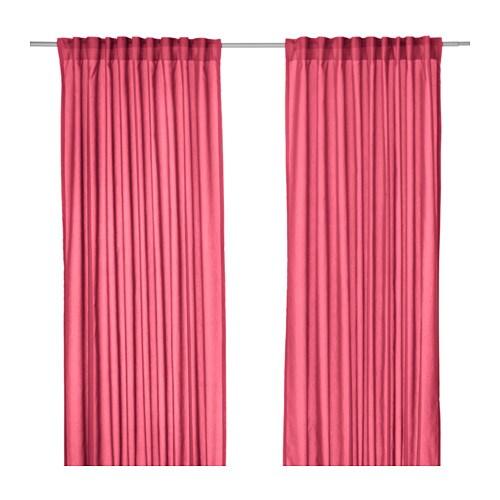 VIVAN Curtains, 1 pair IKEA The curtains let the light through but ...