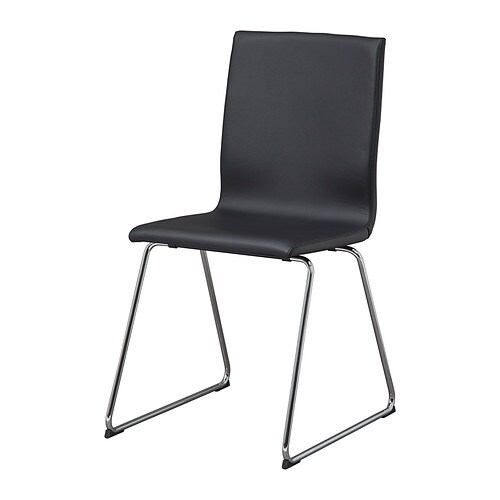 black furniture ikea. VOLFGANG Chair IKEA You Sit Comfortably Thanks To The Restful Flexibility Of Seat Black Furniture Ikea Q