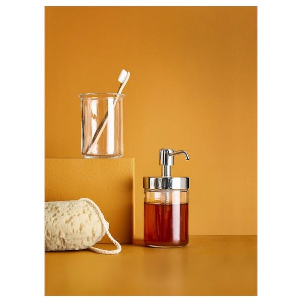 """VOXNAN soap dispenser chrome effect 6 ¼ """" 12 oz"""