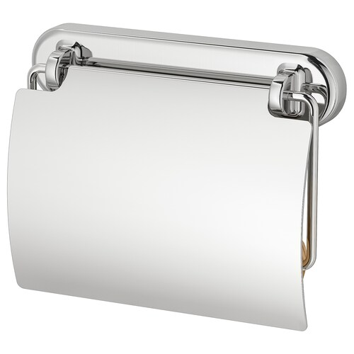 VOXNAN toilet roll holder chrome effect 5 ½ ""