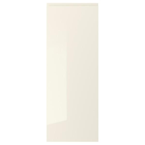 """VOXTORP Door, high gloss light beige, 15x40 """""""