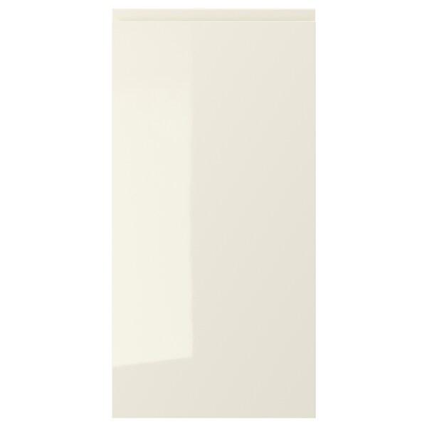 """VOXTORP Door, high gloss light beige, 15x30 """""""