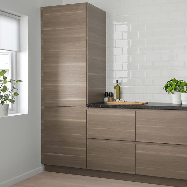 """VOXTORP Door, walnut effect, 15x30 """""""