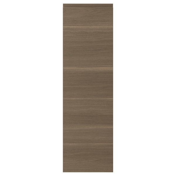 "VOXTORP door walnut effect 11 7/8 "" 40 "" 12 "" 39 7/8 "" 7/8 """