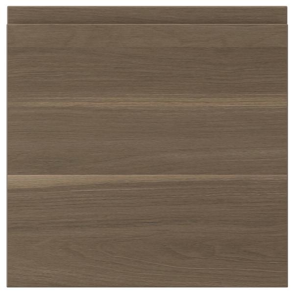 """VOXTORP door walnut effect 14 7/8 """" 15 """" 15 """" 14 7/8 """" 7/8 """""""