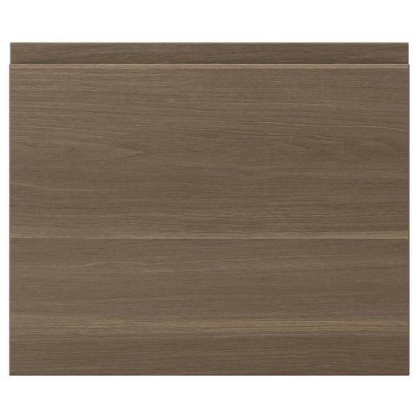 """VOXTORP door walnut effect 17 7/8 """" 15 """" 18 """" 14 7/8 """" 7/8 """""""