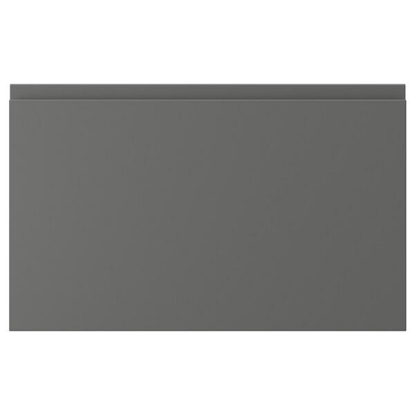 """VOXTORP Drawer front, dark gray, 24x15 """""""