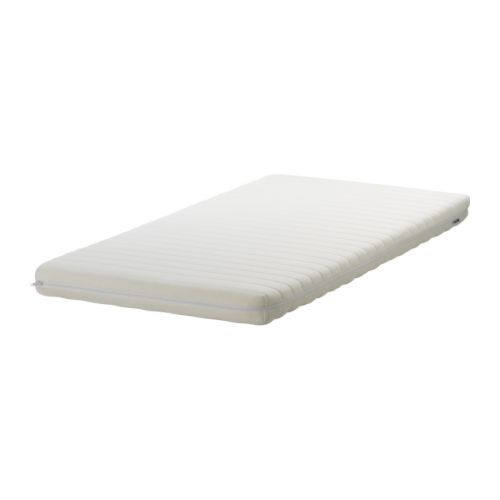 VYSSA SLÖA Mattress for crib IKEA Two different comfort surfaces.