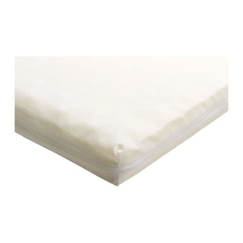 VYSSA SLUMMER Mattress for extendable bed IKEA This mattress has two different comfort surfaces.