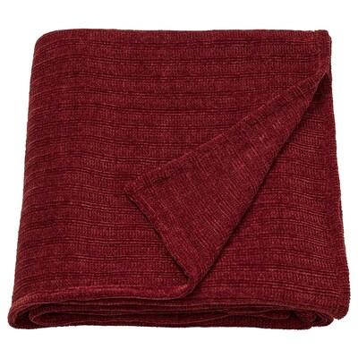 "YLVALI Throw, brown-red, 51x67 """
