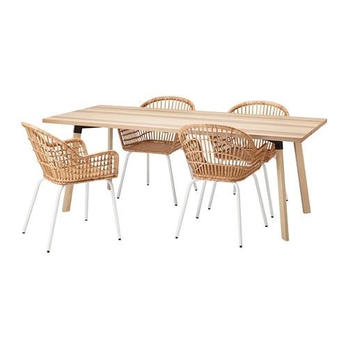 YPPERLIG NILSOVE Table And 4 Chairs IKEA