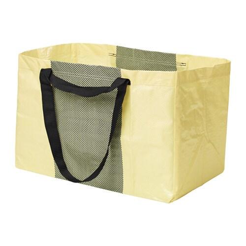 YPPERLIG Shopping bag, large, yellow