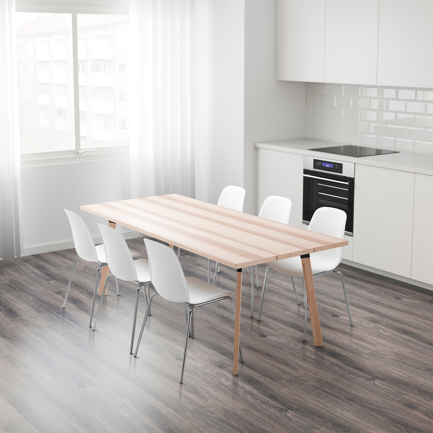 Picture of: Ypperlig Table Ash Ikea