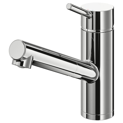 YTTRAN Kitchen faucet with pull-out spout, chrome plated